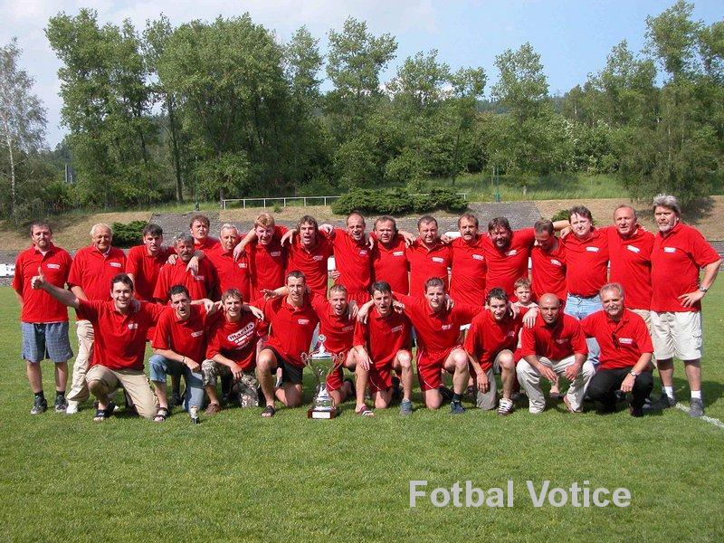 A mužstvo - jaro 2006 – postup do divize