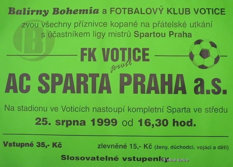 Votice - Sparta