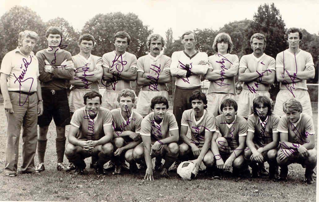 Votice 1982 na turnaji v Sedlčanech