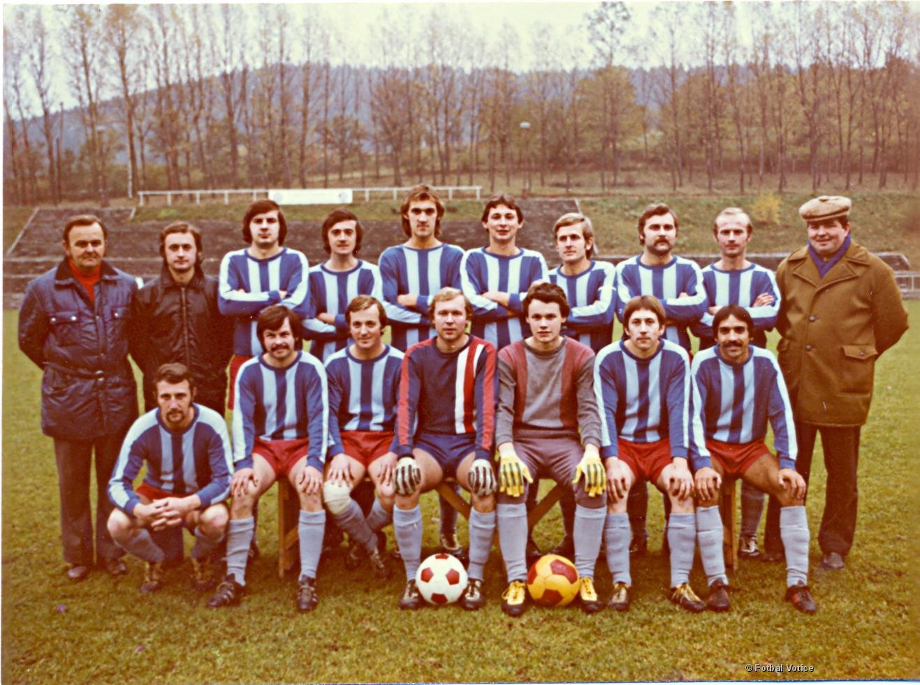 Votice B v roce 1978