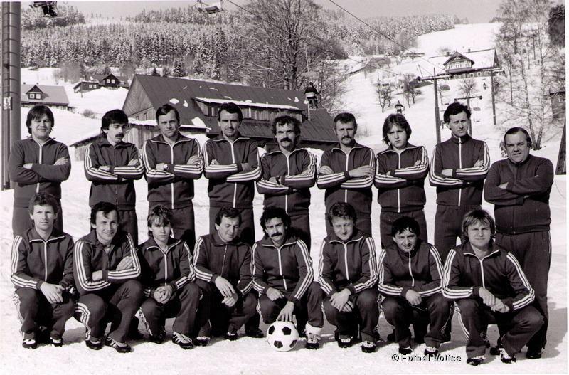 A muži na horách 1986