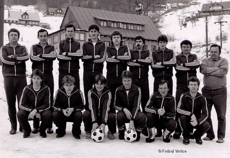 A muži na horách 1988
