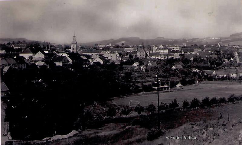 Hřiště v roce 1938
