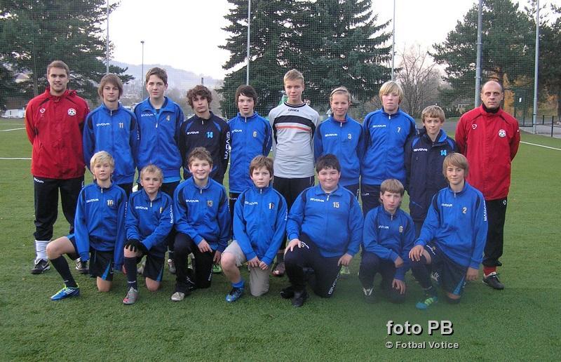 žáci SK Votice - podzim 2012