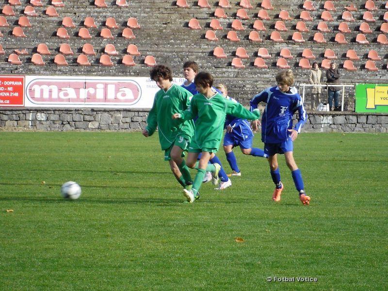 Žáci: SK Votice - SK Zeleneč [4.11.2012]