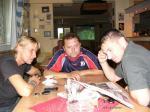 Horst Siegl ve VIP s  Pavlem Kukou a Milanem Šedivým