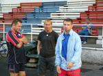 Horst Siegl s Milanem Šedivým a Pavlem Kukou