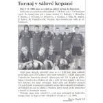 Turnaj v sálovce - převzato z Votických novin